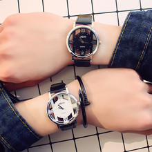 Fashion Brand Hollow Women Watch Neutral Personality Simple Unique Couple Watches Woman Watch Lovers Clock Relogio Feminino Saat