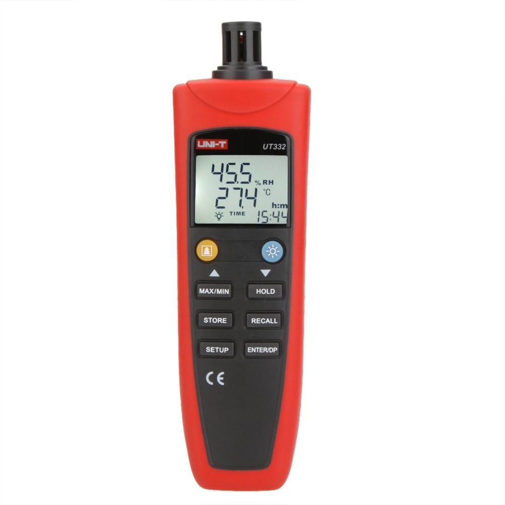 Здесь можно купить  UNI-T UT332 Digital Thermo-hygrometer Thermometer Temperature Humidity Moisture Meter Sensor w/USB & Power Saving Mode UNI-T UT332 Digital Thermo-hygrometer Thermometer Temperature Humidity Moisture Meter Sensor w/USB & Power Saving Mode Строительство и Недвижимость