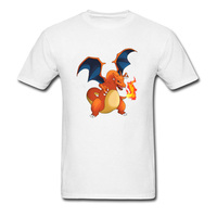 Pokemon Charizard Funny Anime Movie T Shirt Amazing T Shirt Men Slim Fit Men S Awesome