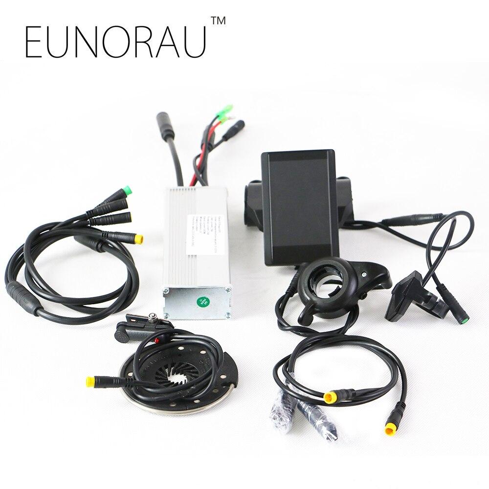 E велосипед наборы преобразования 48 В 500 Вт концентратор мотор комплект системы с ЖК дисплей Дисплей