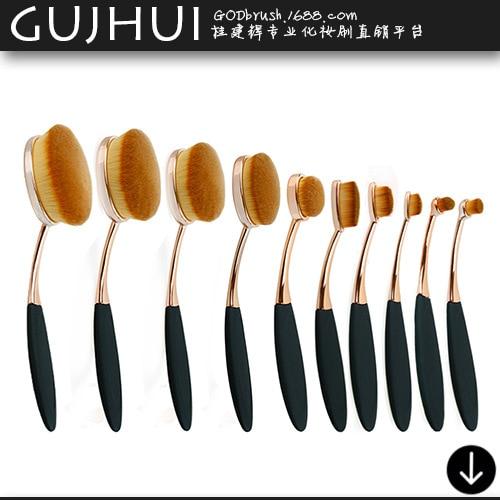 10 Toothbrush Make-up Brush Foundation Brush Brush Beauty Makeup Tools тушь make up factory make up factory ma120lwhdr04