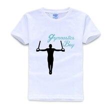 Детская футболка для гимнастики и мальчиков; Рождественская рубашка; топы для мальчиков; Одежда для девочек 8-12 лет; сезон лето