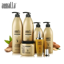 6pcs Superior Professional Natural Treatment Moisturzing Dry Anti-Itching and Smooth Armalla Moroccan Argan Oil Hair Care Set londa professional velvet oil treatment argan oil and vitamin e