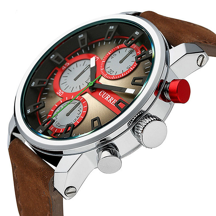 2017 Men's Watches CURREN Brand Luxury Quartz Watch Fashion Genuine Leather Watches Men Watch relogios masculinos reloj hombre цена и фото
