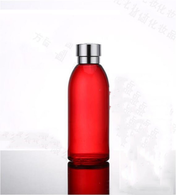 120ml 30ml 50g 30g Skin Care Bottle Cosmetic Container Bottle Red Carved lid Glass Bottle Cream Jar Emulsion Essence Vial (6)