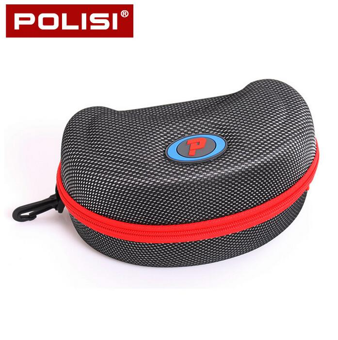 POLISI Outdoor Sports Skiing Goggles Box Motorcycle Cycling Snowmobile Goggles skateboard eyewear Glasses Hard Protector Box