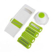 5 stücke/1 satz multifunktions vegetabels obst shredder cutter gurke reiben schäler apple slicer küchenhelfer küche werkzeug