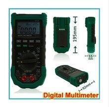 Бесплатная доставка Mastech MS8229 5 in1 Авто диапазон Цифровой Мультиметр Многофункциональный Lux Уровень Звукового Влажность Температура Метр Тестер