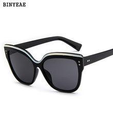 Cat Eye Femmes lunettes de Soleil 2018 Nouveau Teinté Couleur Lentille  Hommes Vintage En Forme de 71bdd985172d