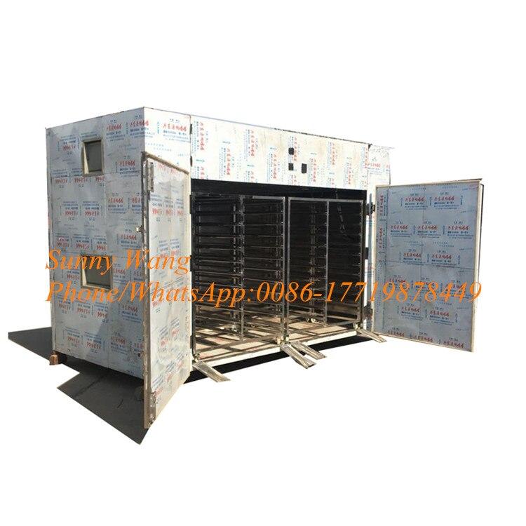 192 Trays Hot Air Circulation Dryer Fruit Dryer Hot Air Circulating Food Industrial Dryer Tray Dryer