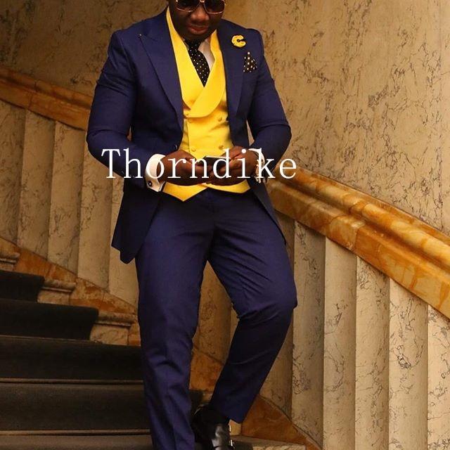 Plyesxale 3 Piece Wedding Suits For Men Burgundy Khaki Blue Gray Army Green Purple Suit Slim