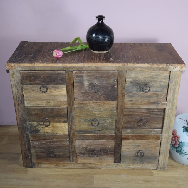 Beijing Factory Whole Reproduction Chinese Antique Recycle Wood Furniture