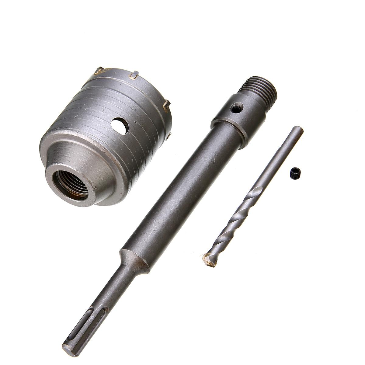 Zeer 1 set 58mm Metalen Beton Boor Muur Gatenzaag Kit 200mm Staaf Voor UB52