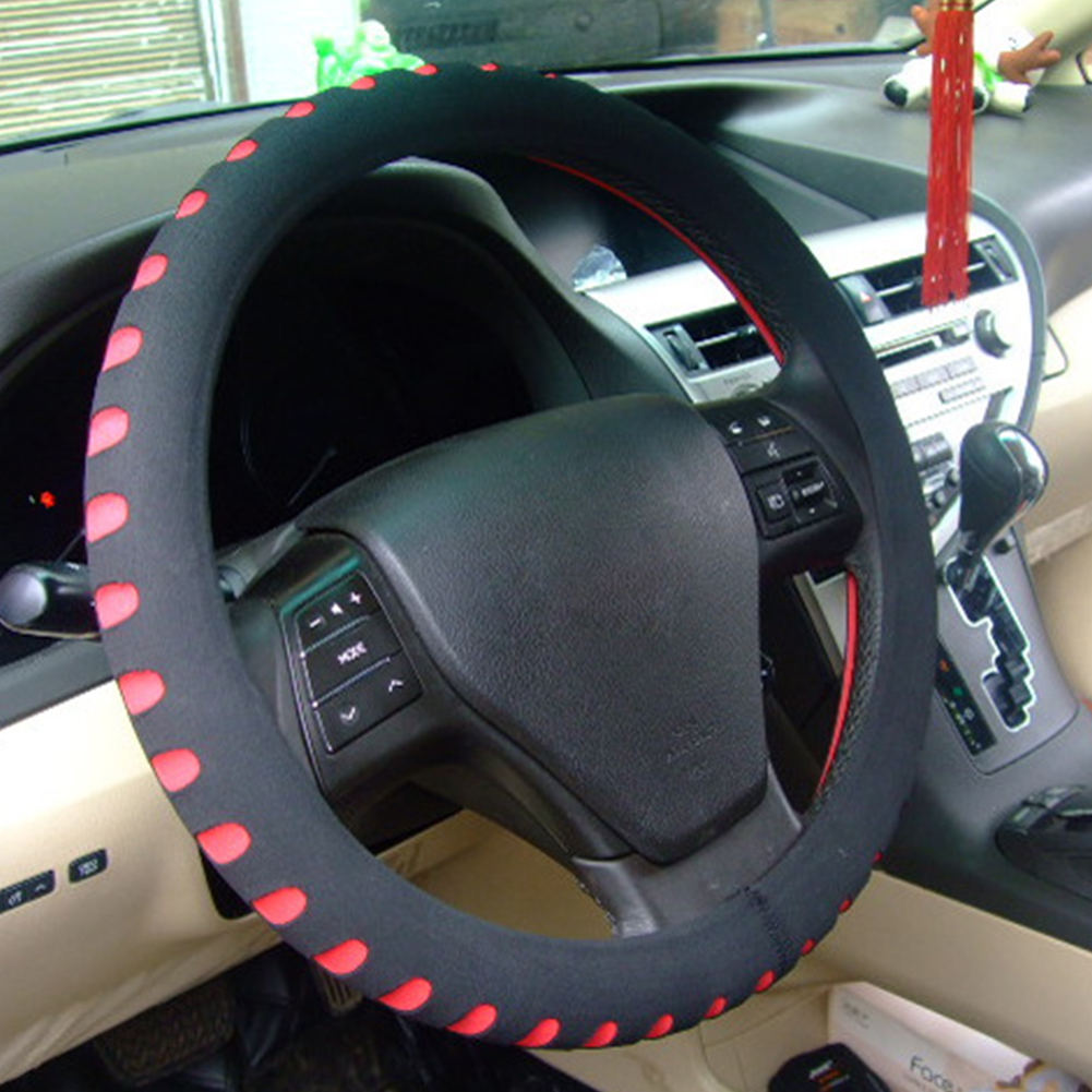 Car Steering Wheel Cover Universal Car Protector Accessories Diameter 38cm EVA Material Automotive Steering Protector(China)