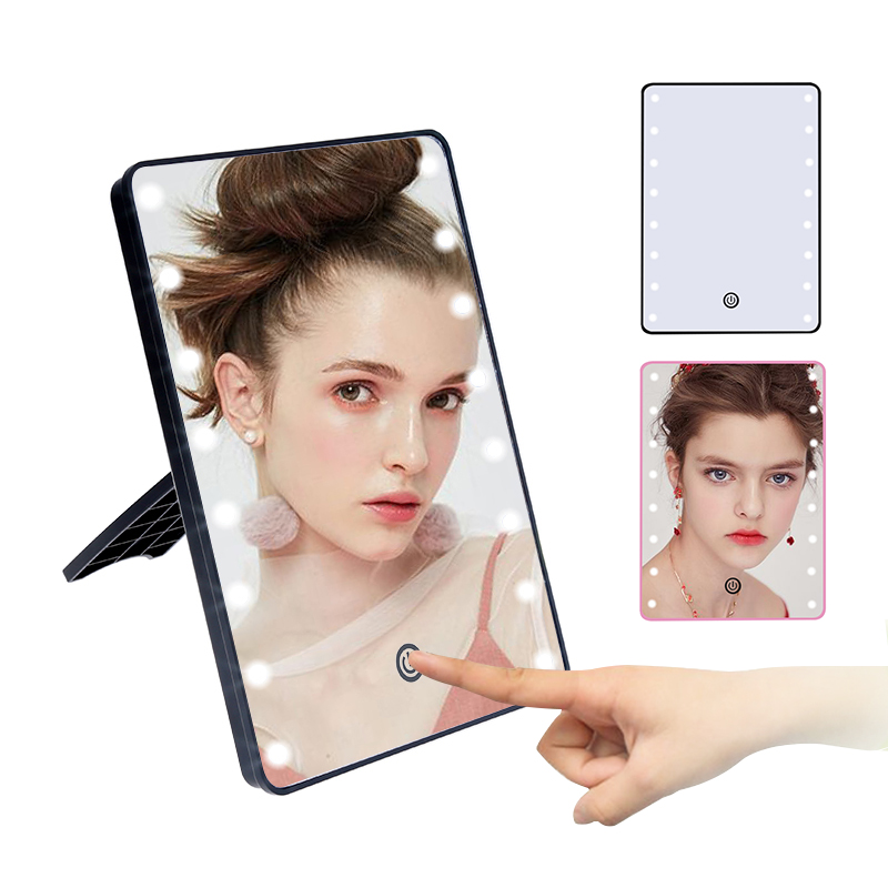 Dimmable LED Make Up Beauty Mirror 16 Light Bulbs Illuminated Vanity Cosmetic Mirr