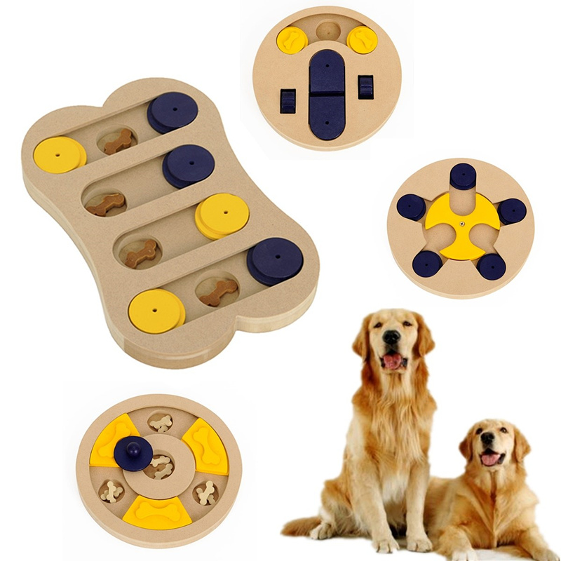 4-Types-Wooden-Pet-Toys-Dog-Puppy-Treat-Games-Food-Hiding-Puzzle-IQ-Training-Interactive-Toys