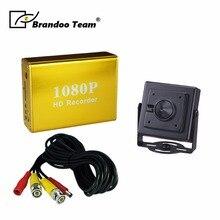 1080 P Full HD mini CCTV SD видеорегистратор Цифровой Регистраторы комплекты с 1 шт. 2.0MP AHD камеры, используется для дома, офиса, магазин видеонаблюдения