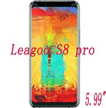 """Nuevo protector de pantalla de vidrio templado ultradelgado nuevo para Leagoo S8 pro 5,99 """"Premium frente transparente cubierta de película protectora"""