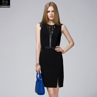 Big Shop Sign The Original Single Perspective Lace Stitching Leather Cultivate One S Morality Dress Female