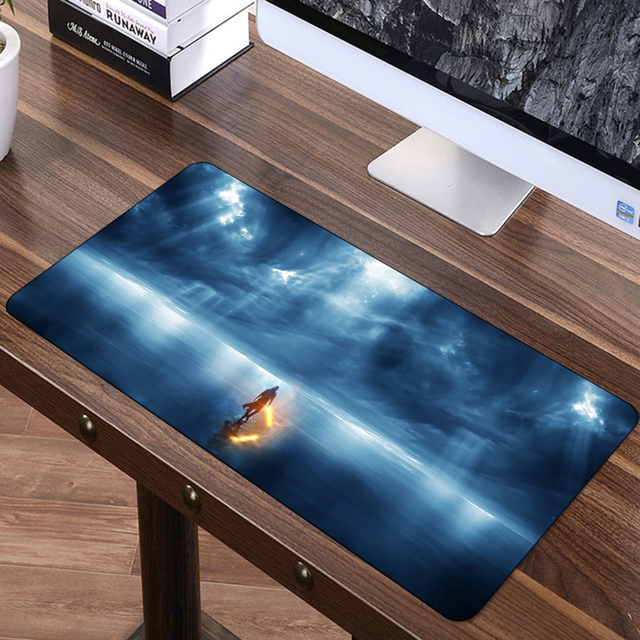 FFFAS 70x30cm Large Mouse Pad Speed Gamer Gaming Playmat Eat Chicken Mousepad America USA Spain Fashion Laptop Notebook Mat XL