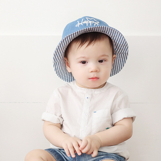 dbbc7c2bfff New fashion 6 18M Baby s hat children s cotton cute crown cowboy hat sun hat  for boys and girls soft sunscreen cap hot sell(m53)-in Hats   Caps from  Mother ...