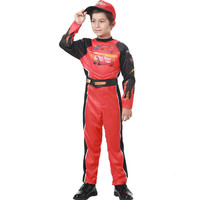 red race car driver costume for boys car racing costume for children racing driver costume
