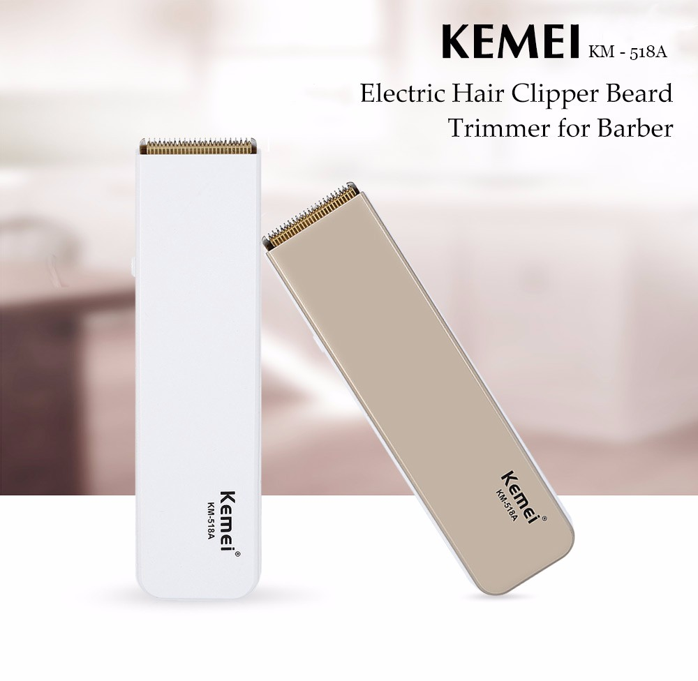 Kemei KM - 518A Professional Electric Hair Clipper Beard Trimmer Barber Hairdressing Tool Hair Cutting Machine professional hair clipper electric hair trimmer hair cutting machine hairdressing styling hair shaving tools barber family use