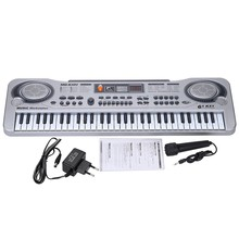 21″ 61 Keys LED Electronic Keyboard Organ Piano Music Toy With Microphone