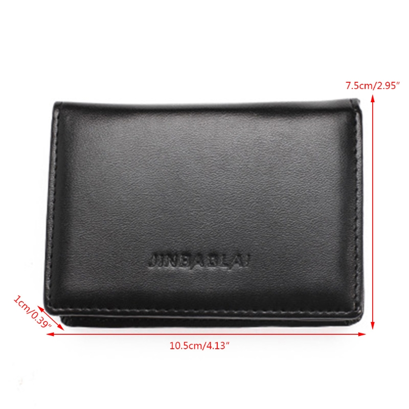 New Arrive Rfid Wallet Men Small Bifold Faux Leather Pocket Money Id Credit Card Holder Coin Purses & Holders Back To Search Resultsluggage & Bags