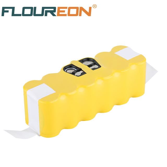 14.4V 3500mAh For iRobot Roomba Vacuum Cleaner Rechargeable Battery Replacement for 500 521 600 650 780 800 880 Ni-MH Batteries
