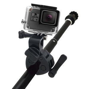 Image 3 - Gun Angelrute Bogen Pfeil Clamp für XIAOMI Mijia Panorama 360 Mi Kugel Camcorder/Mijia Mini 4 Karat Action kamera
