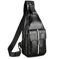 HNXZXB Famous Brand Male Bag Men's Messenger Bags Chest Back Pack Handbag Cross Body s High Quality Waterproof Leather