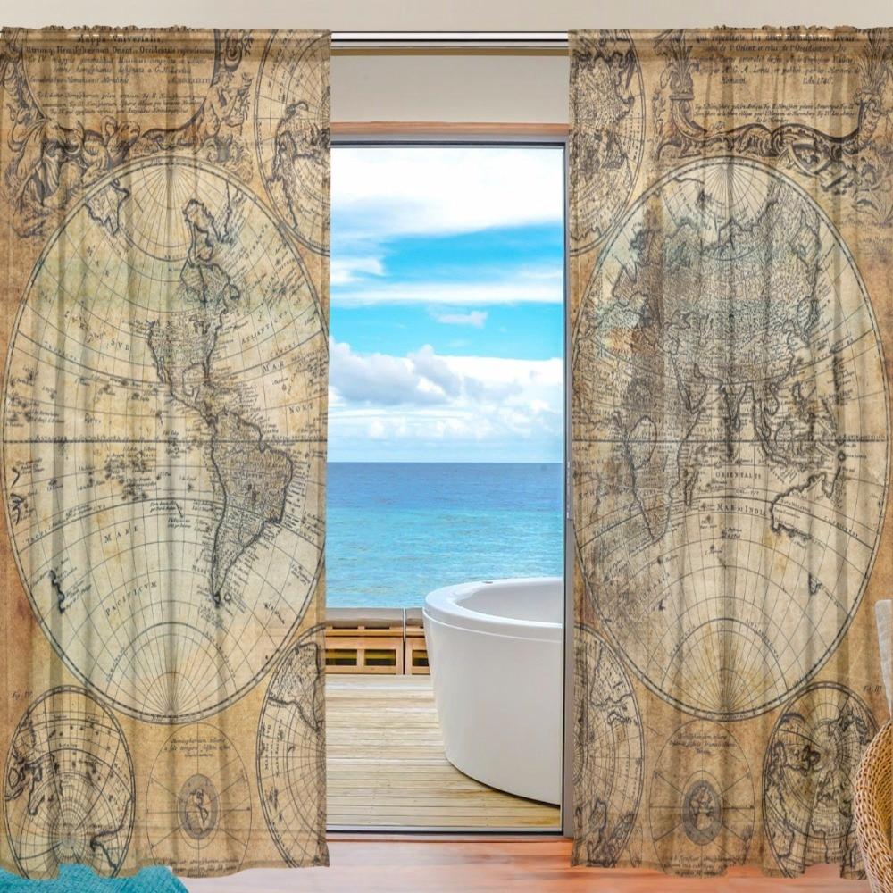 Rideau de fenêtre luxueux Rideaux de chambre à coucher pour le - Textiles de maison - Photo 1