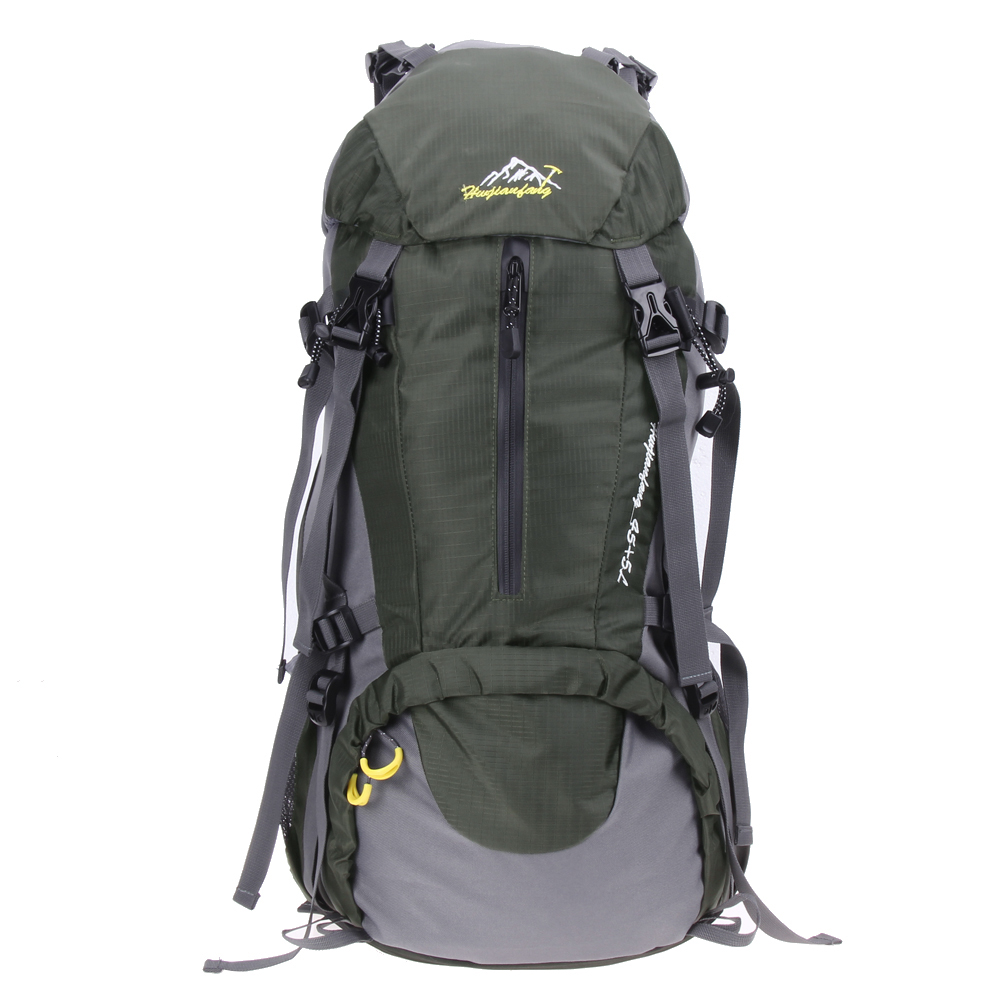 50L Outdoor Backpack Camping Bag with Waterproof cover Mountaineering Hiking Backpacks Molle Sport Bag Climbing Rucksack 40l outdoor tactical backpack camping bag waterproof mountaineering hiking backpacks molle sport bag climbing rucksack