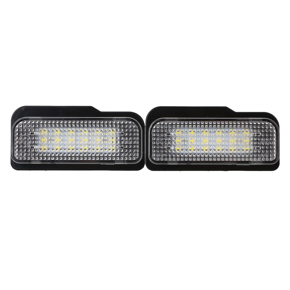 2Pcs 18 LED License Plate Light Xenon White No Error For Benz W203 W211 W219 brontë emily агнес грей