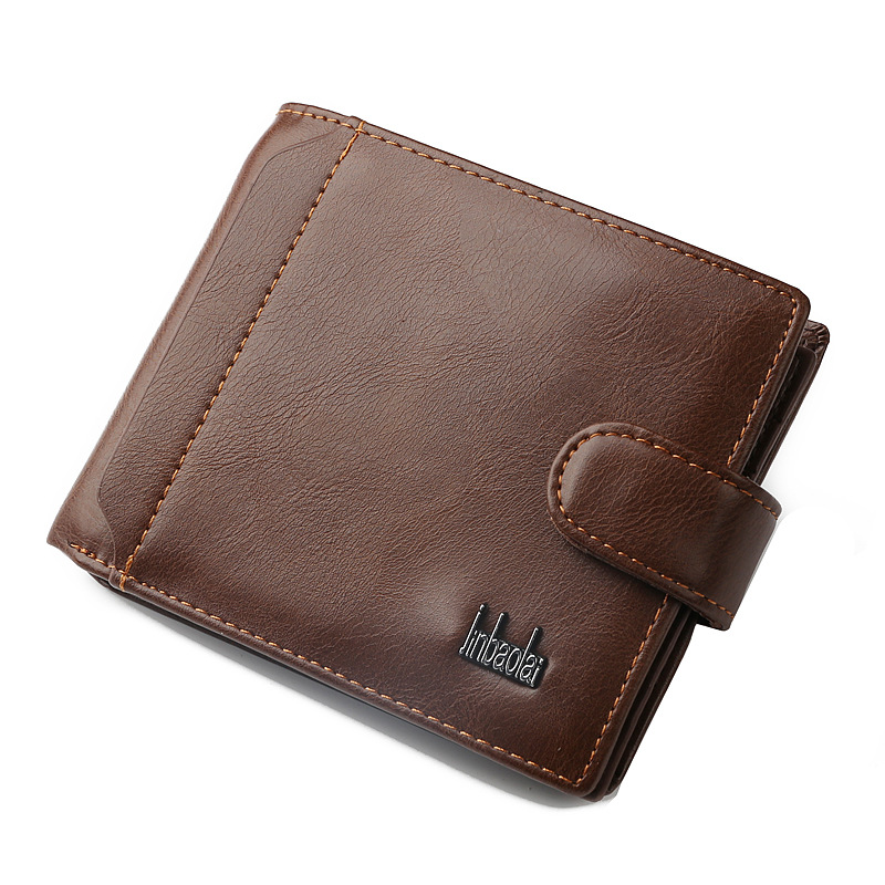 New brand leather men wallets with hasp designer's men wallets with coin pocket purse 2017 gift card holder for men carteira new fashion men wallets famous brand leather wallet hasp design wallets with coin pocket purse card holder for men carteira