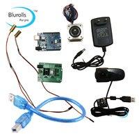 Reprap Ciclop 3d scanner electronics kit, motor, lasers, UNO controller,ZUM Scan Expansion board, plug,camera full kit