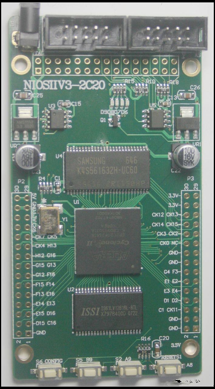 ALTERA FPGA EP2C20 Core Board SDRAM SRAM