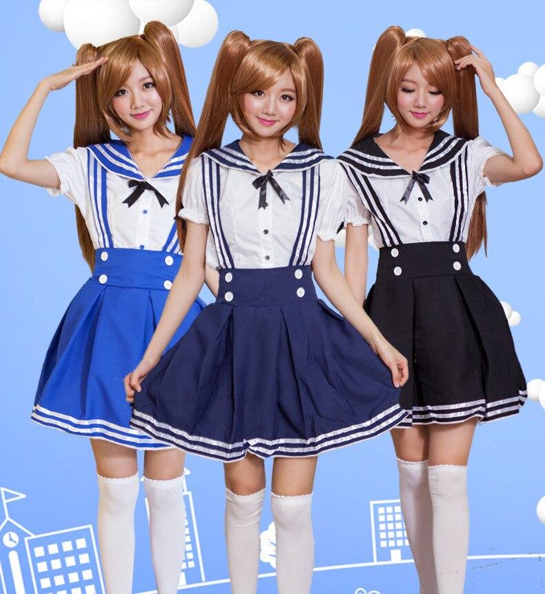 Plus Size New Japanese School Uniform Korean School -5232