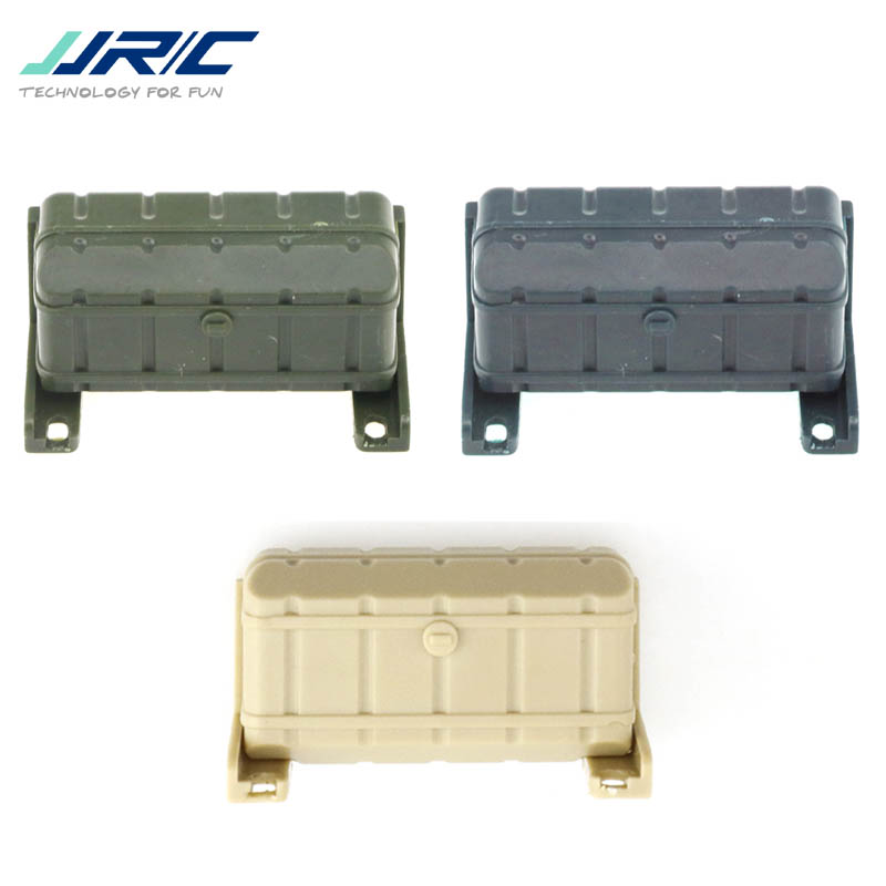 1PC <font><b>JJRC</b></font> Q60 <font><b>Q61</b></font> 1/16 2.4G Military Trunk Crawler RC Car Spare <font><b>Parts</b></font> Accessories Decorate Box Dark Blue Green Yellow image