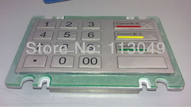 Metal encryption password keyboard/Waterproof/Riot/Numeric keypad in English