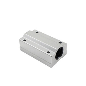 Image 2 - Free shipping 4pcs/lot SC8LUU SCS8LUU 8mm Linear Ball Bearing Block CNC Router pillow for XYZ