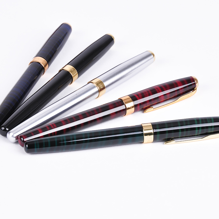 Fashion High Quality Metal 0.5mm Roller Ball Pens Ballpoint Pen School & Office Supplies for Student Writing Stationery Gift picasso 928 ballpoint pen high quality roller ball pen office and school writing supplies gel pens business gift free shipping