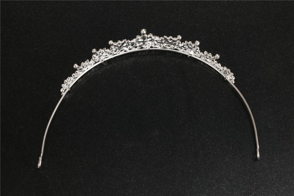 3 Designs Fashion Crystal Wedding Bridal Tiara Crown For Women Prom Diadem Hair Ornaments Wedding Bride hair Jewelry accessories 4