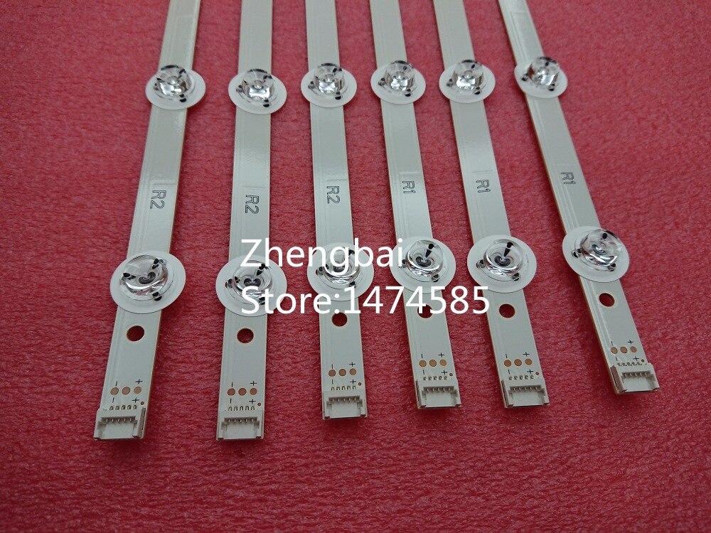 Image 5 - New 12pcs LED backlight strip for LG 55LB7200 55LB7000V 55LB676V  LC550DUH PGF1 6916L 1629A 1630A 1741A 1743A 55LB677V  55LB679Varrayarray led