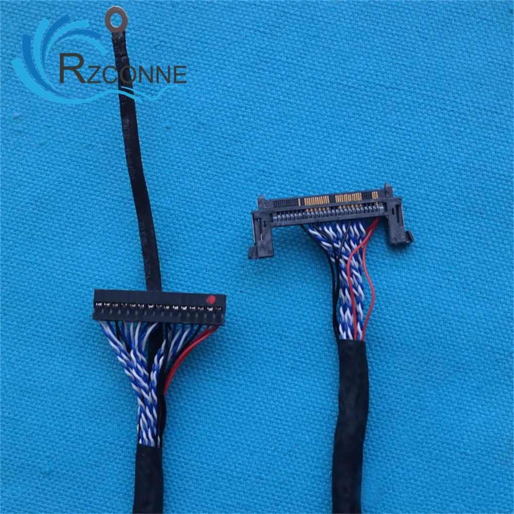 ユニバーサル Lvds ケーブル 51pin 30pin スクリーンケーブルサポートサムスン、 Lg 26 インチ-55 インチ lcd ドライバボード接続スクリーン線