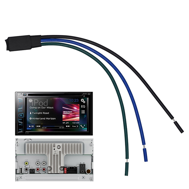 בלם חניה עוקף ממשק וידאו בתנועה Lonleap לבחירה פיוניר רדיו סטריאו מתאים לכל Pioneer AVH, AVH P, AVH X