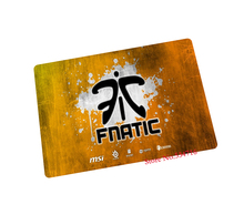 fnatic mouse pad Tasteless rubber gaming mouse pad laptop large mousepad gear notbook computer pad to mouse gamer play mats