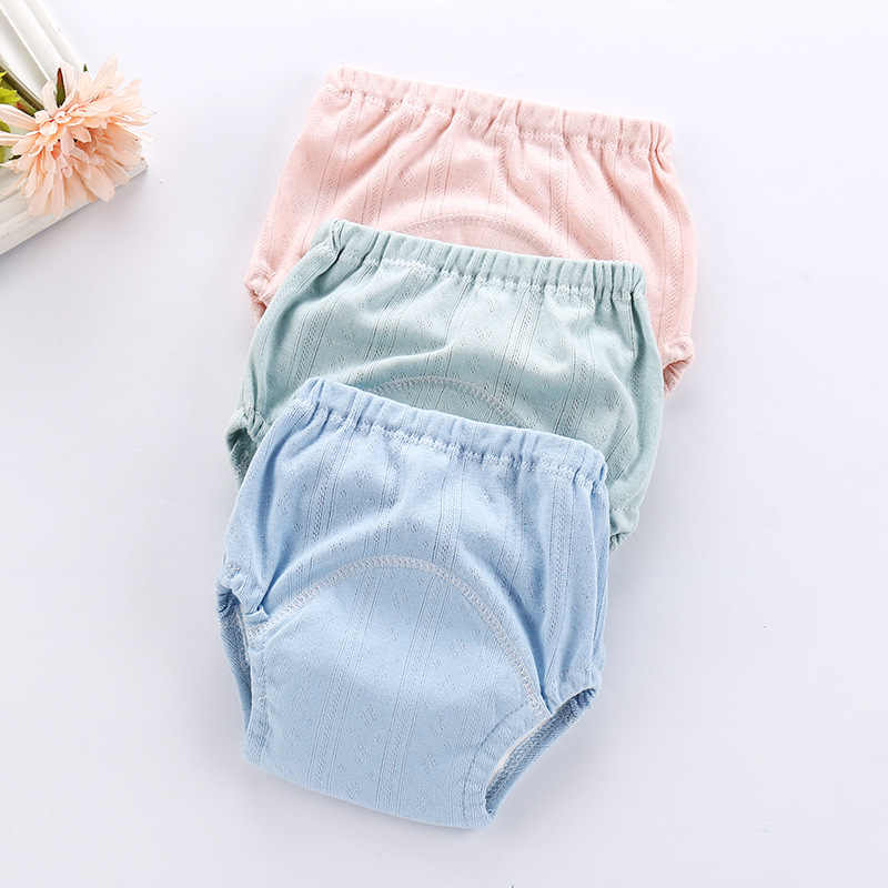 Baby Diapers Reusable Nappies Mess Cloth Diaper Washable Infants Children Baby Cotton Training Pants Panties Nappy Changing