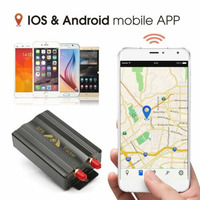 TK103B GPS Tracker Car Cut Off Oil GPS Tracker Locator Tracking Device Crawler Retainer GSM Voice Monitor Shock Alarm Free APP